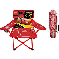 pixar cars 3 lightning mcqueen fold n go chair