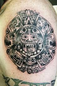 Mexican Aztec Tribal Tattoos