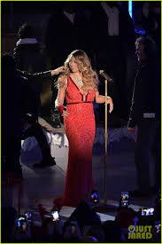 Rockefeller Christmas Tree Lighting 2014 Mariah Carey by Mariah Carey Sings U0027all I Want For Christmas Is You U0027 Live At