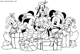 Coloring Pages Christmas Disney Id 77551 Source