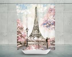 Paris Eiffel Tower Bathroom Accessories by Paris Bathroom Decor Etsy