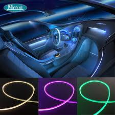 100 Interior Truck Lighting Side Emitting Fiber Optic Lighting Car Fiber Optics Mini 15