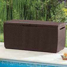 Suncast Resin Deck Box 50 Gallon by 20 60 Gallon Deck Boxes U0026 Patio Storage You U0027ll Love Wayfair