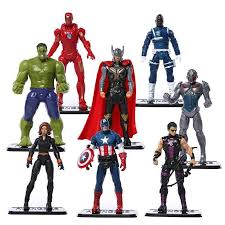 Avengers Age Of Ultron Super Heroes Action Figures Toy8 Pieces