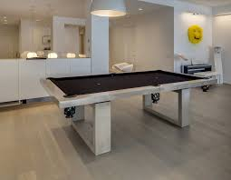 Dining Room Pool Table Combo by Entertainment Rooms Design With Billiard Room Decor Modern Game