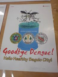 A Poster Promotes Covering Bins To Control Mosquitoes And Prevent The Spread Of Dengue Fever In