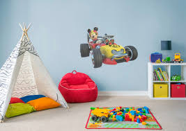 fathead baby wall decor mickey and the roadster racers wall decal shop fathead for