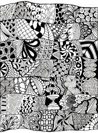 Free Coloring Page Adult Zen Anti Stress Abstract To