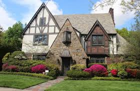 Tudor Style Exterior Home Design With Front Yard Bushes - Types Of ... Modern Outdoor Lightning As Illumating Decoration For Awesome Exterior Home Design Styles Interior Contemporary Architecture Hgtv 25 India House Using Indian Glamorous Decor Ideas Pjamteencom Craftsman Style Colors Top 6 Siding Options Fascating Ranch Houses With Pink Appealing Plan For A Variety Of To Choose From Pating Designs