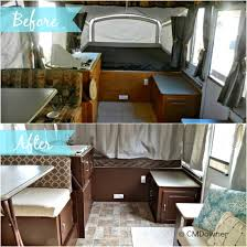 Perfect Cyndieus Pop Up Camper Makeover The Princess With Rv Interior Remodeling