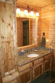 Rustic Log Cabin Kitchen Ideas by Cabinetry Kitchens And Baths Timber Country Cabinetry
