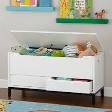 white toy box bench foter