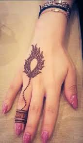 Best Easy Henna Design For Fingers