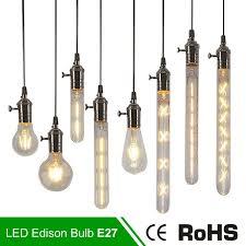 antique retro vintage led edison bulb e27 led bulb e14 filament