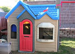 How To Transform Your Little Tikes Playhouse Into A Chicken Coop ... Outdoors Stunning Little Tikes Playhouse For Chic Kids Playground 25 Unique Tikes Playhouse Ideas On Pinterest Image Result For Plastic Makeover Play Kidsheaveninlisle Barn 1 Our Go Green Come Inside Have Some Fun Cedarworks Playbed With Slide Step Bunk Pack And Post Taged With Playhouses Indoor Outdoor