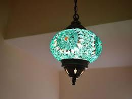 stained glass mosaic lighting medium handmade turkish moroccan