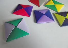 Traditional Origami Paper Folding In Korea