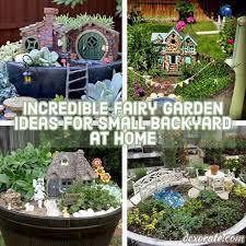 20 Incredible Fairy Garden Ideas For Small Backyard At Home