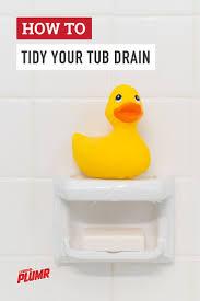 Unclogging A Bathtub Full Of Water by 25 Unique Unclog Tub Drain Ideas On Pinterest Diy Drain