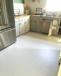 Kitchen Lino Tiles Painted Linoleum Floors Farmhouse Remodel Little White House Blog Tile