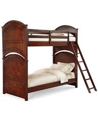 irvine twin over twin kids bunk bed furniture macy s