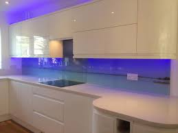 Digitally Printed Glass Splashbacks Installed In East Budleigh The Image Runs Through 3 Separate