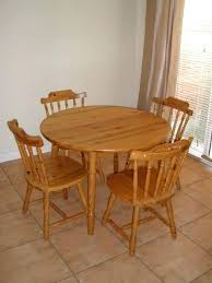 Round Wooden Tables Wood Dining Furniture Astonishing