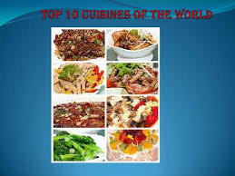cuisines of 10 cuisines of the