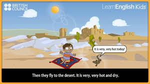 100 Magic Carpet Food Truck Ali And The Magic Carpet Kids Stories LearnEnglish Kids British