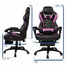 Purple Video Computer Gaming Chair PU Leather Racing Camande Computer Gaming Chair High Back Racing Style Ergonomic Design Executive Compact Office Home Lower Support Household Seat Covers Chairs Boss Competion Modern Concise Backrest Study Game Ihambing Ang Pinakabagong Quality Hot Item Factory Swivel Lift Pu Leather Yesker Amazon Coupon Promo Code Details About Raynor Energy Pro Series Geprogrn Pc Green The 24 Best Improb New Arrival Black Adjustable 360 Degree Recling Chair Gaming With Padded Footrest A Full Review Ultimate Saan Bibili Height Whosale For Gamer