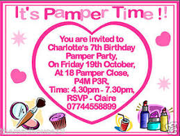 Pamper Party Invitations With Glamorous Invitation Template To Beautify Your Artistic 36