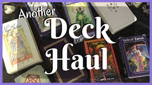 Mythic Tarot Deck Book Set by Tarot Deck Haul Yes Another One Nigel Jackson Spiral
