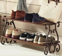 moran shoe rack from pottery barn