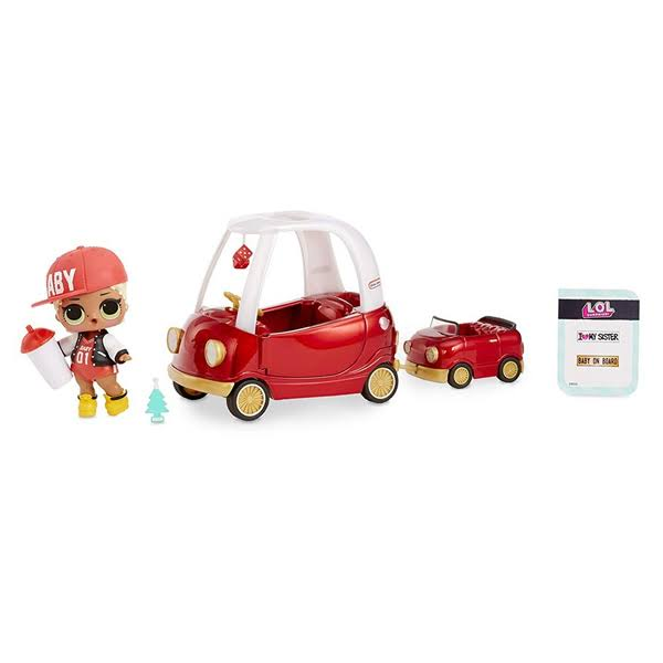 LOL Surprise Dolls Furniture with Cozy Coupe and M.C. Swag Playset
