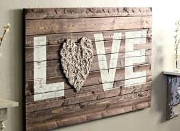Rustic Wall Art Decor Excellent Ideas Wood Design Amazing Craft Love