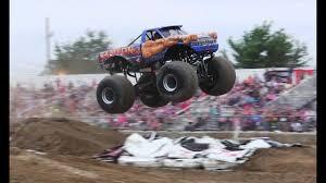 100 Samson Monster Truck FREESTYLE At Shootout At Imlay Fair YouTube
