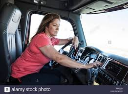 Caucasian Woman Driver Parked And Using The GPS Mapping Device In ... 5 Core Benefits Of Gps For Truck Drivers Xgody Find Offers Online And Compare Prices At Storemeister Best Systems 2018 Top 10 Reviews Youtube Truckway Pro Series Black Edition 7 Inches 8gb Rom256mg Gps With Routes Buy Whosale Fuel Sensor Gps Truck Online Route Planning Owner Operator Trucking Dream Team Ordryve 8 Device With Rand Mcnally Store Google Maps For New Zealand Visas And The Need Garmin Dezl 780 Ltms Unboxing Started Review Becoming A