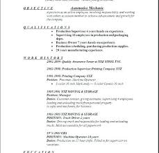 Manufacturing Technician Resume Sample Quality Control