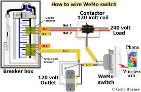 Control 240 Volt With WeMo