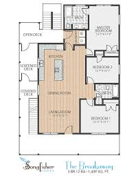 Breakaway Deck Plan 13 by Our Songs The Floor Plans Of Songfisher Homes