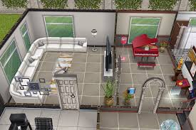 Sims Freeplay Second Floor Stairs by House 3 2nd Building Ground Floor Piano Room And Living Room
