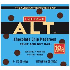Larabar Alt Protein Gluten Free Non GMO Chocolate Chip Macaroon 5