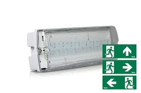 led emergency lighting surface mounted ip65 wall with light ideas
