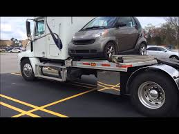 Semi Truck With Tiny Car Mounted - YouTube 2013 Electric Smtcar Be Smart Album On Imgur Snafu A Smart Car Made Into A 4x4 2017 Smtcar Hydroplane Wreck Smart Unloading From Semi At Rv Park Youtube Smashed Between 1 Ton Flat Bed Truck Large Delivery Page 3 Jet Powered Yes Jet Powered 2016 Fortwo Nypd Edition Top Speed 7 Premium Gps Navigation Video Fm Radio Automobile Truck Fortwo Coupe Cadian And Rental