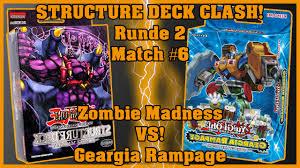 structure deck clash runde 2 match 6 zombie madness vs