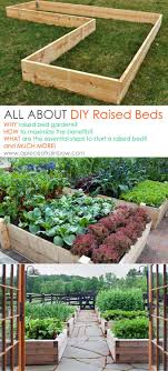 All About DIY Raised Bed Gardens Part 1 A Piece Rainbow