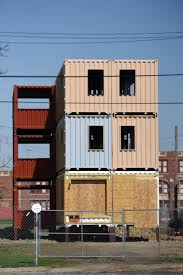 100 Shipping Containers Buildings Building Made Of Shipping Containers Planned For Detroits Corktown