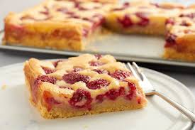 raspberry custard kuchen traditional and tasty german recipe