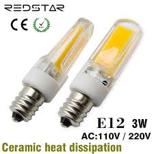 e12 led l jd t3 t4 light bulb 110 130v 3w 4w 5w replace 25w 30w