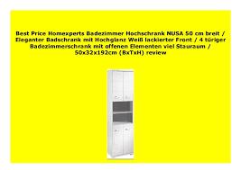 big sale homexperts badezimmer hochschrank nusa 50 cm breit
